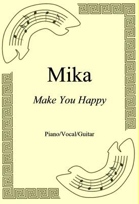 Okładka: Mika, Make You Happy