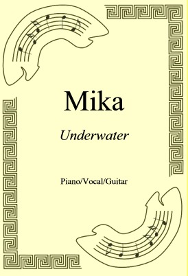 Okładka: Mika, Underwater