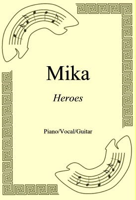 Okładka: Mika, Heroes