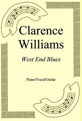 Okładka: Clarence Williams, West End Blues