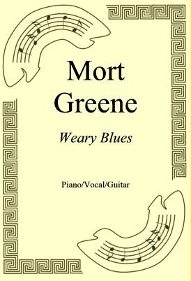 Ok�adka: Mort Greene, Weary Blues