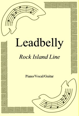 Okładka: Leadbelly, Rock Island Line