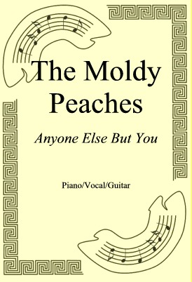 Okładka: The Moldy Peaches, Anyone Else But You
