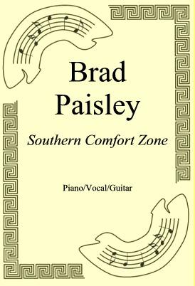 Ok�adka: Brad Paisley, Southern Comfort Zone