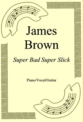 Okładka: James Brown, Super Bad Super Slick