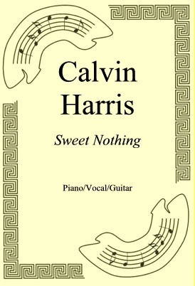 Okładka: Calvin Harris, Sweet Nothing