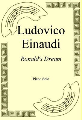 Okładka: Ludovico Einaudi, Ronald's Dream