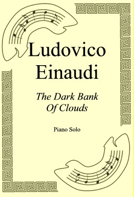 Okładka: Ludovico Einaudi, The Dark Bank Of Clouds
