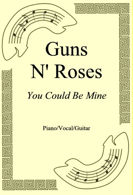 Okładka: Guns N' Roses, You Could Be Mine