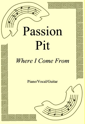Ok�adka: Passion Pit, Where I Come From