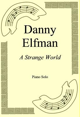Okładka: Danny Elfman, A Strange World