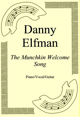 Ok�adka: Danny Elfman, The Munchkin Welcome Song