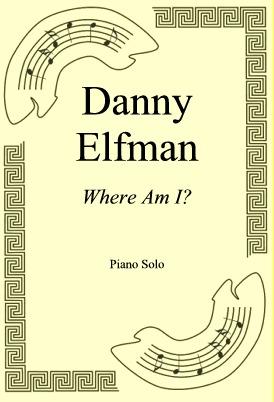 Okładka: Danny Elfman, Where Am I?