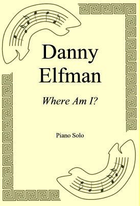 Ok�adka: Danny Elfman, Where Am I?