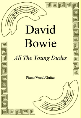 Okładka: David Bowie, All The Young Dudes