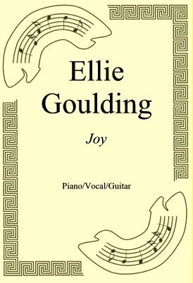 Ok�adka: Ellie Goulding, Joy