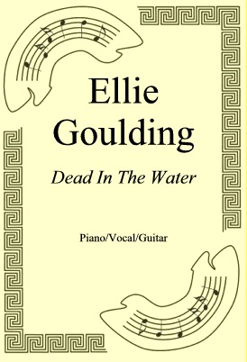 Okładka: Ellie Goulding, Dead In The Water