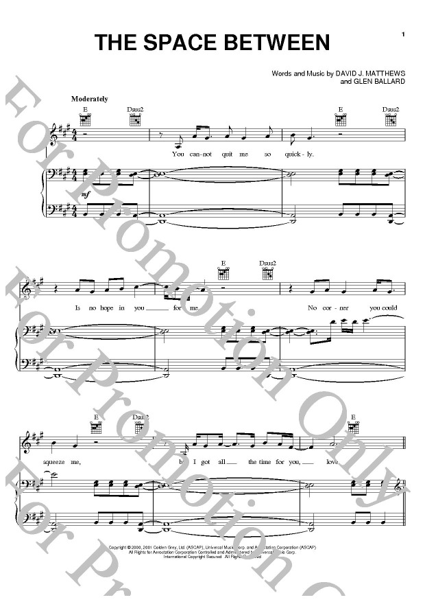 KLIKNIJ aby powiększyć prezentację publikacji: Dave Matthews Band, The Space Between
