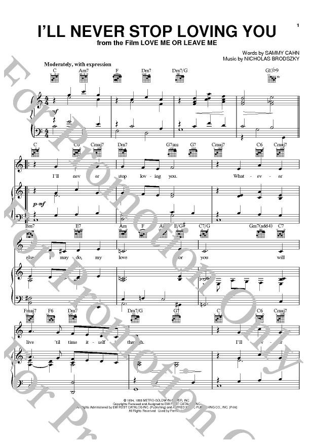 KLIKNIJ aby powiększyć prezentację publikacji: Doris Day, I'll Never Stop Loving You